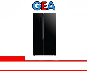 GEA REFRIGERATOR SIDE BY SIDE (G2D-563 BLK GLS)