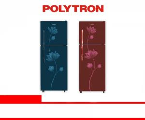 POLYTRON REFRIGERATOR 2 DOOR (PRB 219 B/R)