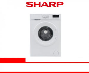 SHARP WASHING MACHINE FRONT LOADING 8 Kg (ES-FL1082B)