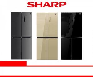 SHARP REFRIGERATOR 2 DOOR (SJ-IF50PM-DS / SJ-IF51PG-BK/CG)